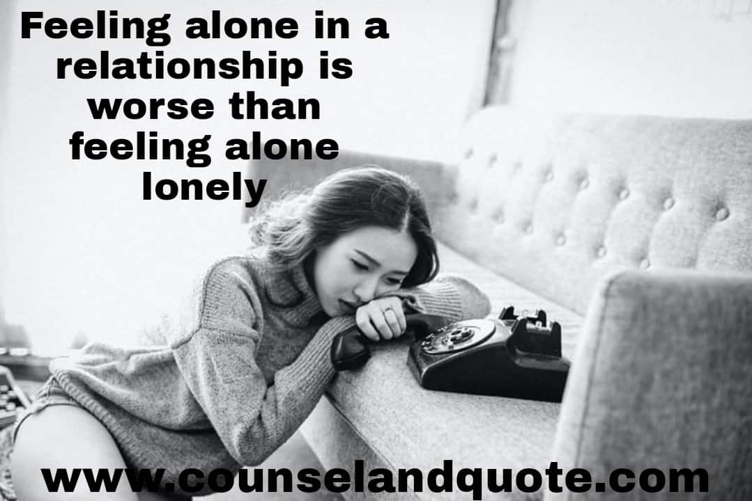 feeling alone in a relationship 1